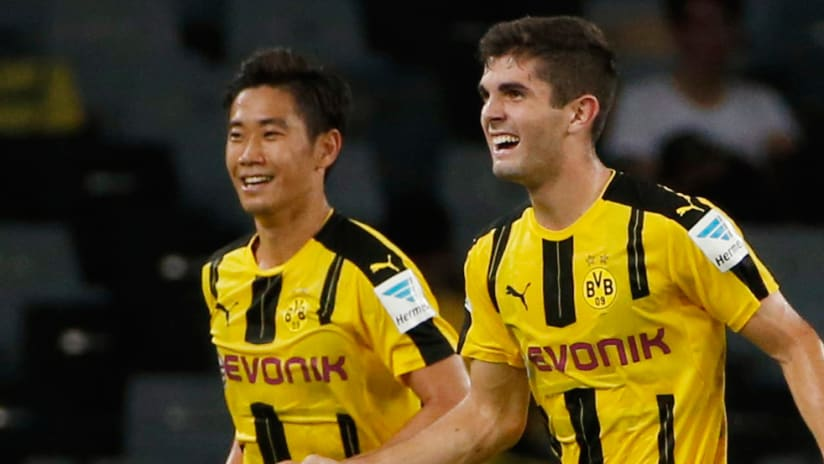 Christian Pulisic - Borussia Dortmund - Close up
