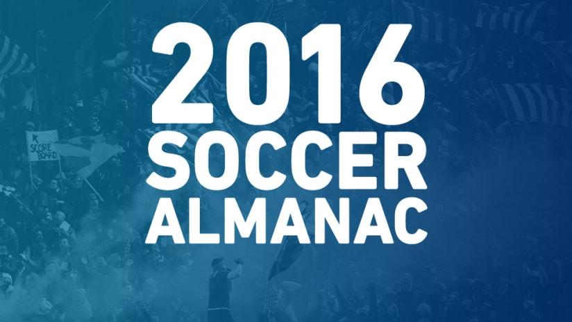 2016 Soccer Almanac