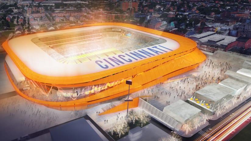 FC Cincinnati - MLS Stadium Rendering - October 9, 2018
