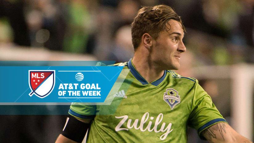 Jordan Morris - Seattle Sounders - Goal of the Week