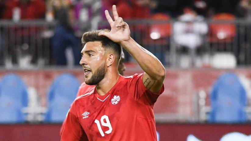 Lucas Cavallini - Canada vs. Dominica - 2018-10-16