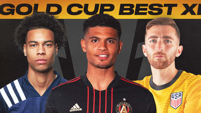 Three MLS players make 2021 Concacaf Gold Cup Best XI