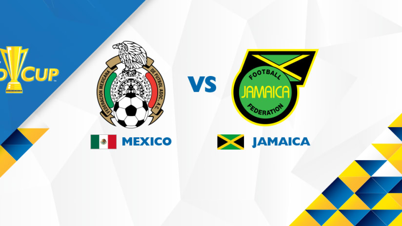 Mexico vs. Jamaica - matchup image - Gold Cup 2017