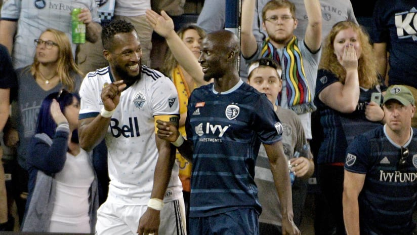 Kendall Waston and Ike Opara - 2017