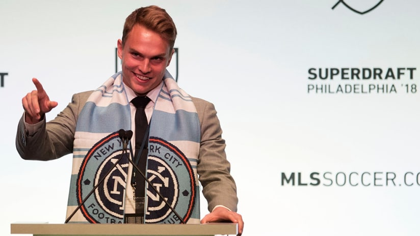 Jeff Caldwell - New York City FC - SuperDraft