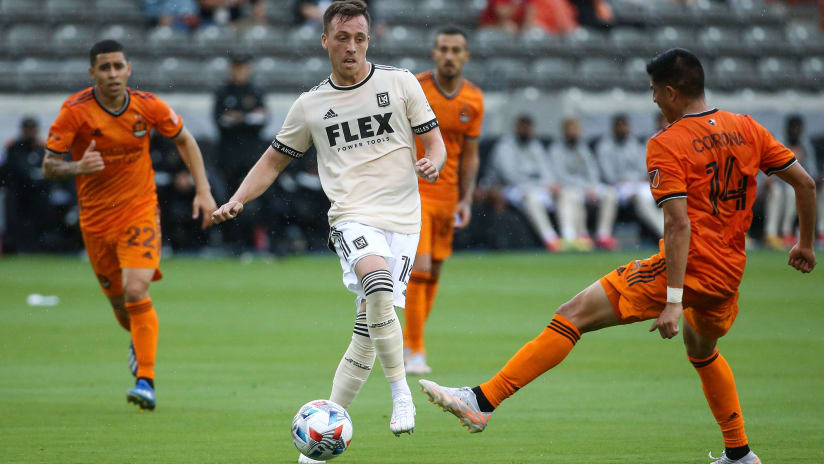 Houston Dynamo FC acquire Corey Baird in trade with LAFC