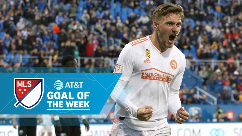 Goal of the Week - Week 30 - Julian Gressel - Atlanta United