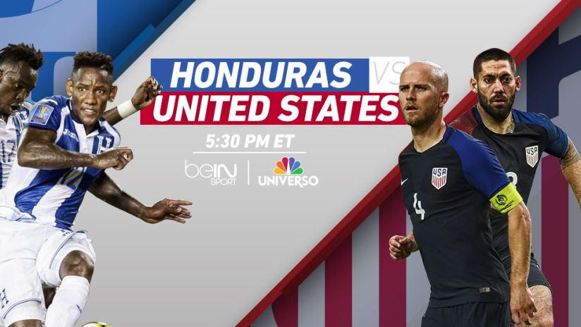 Match Image: Honduras vs. United States - Sept. 5, 2017