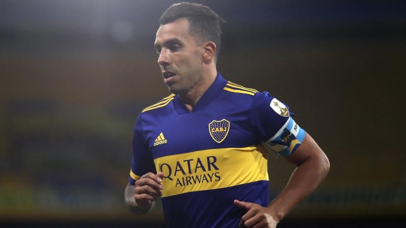 Carlos Tevez –Boca Juniors –jogging