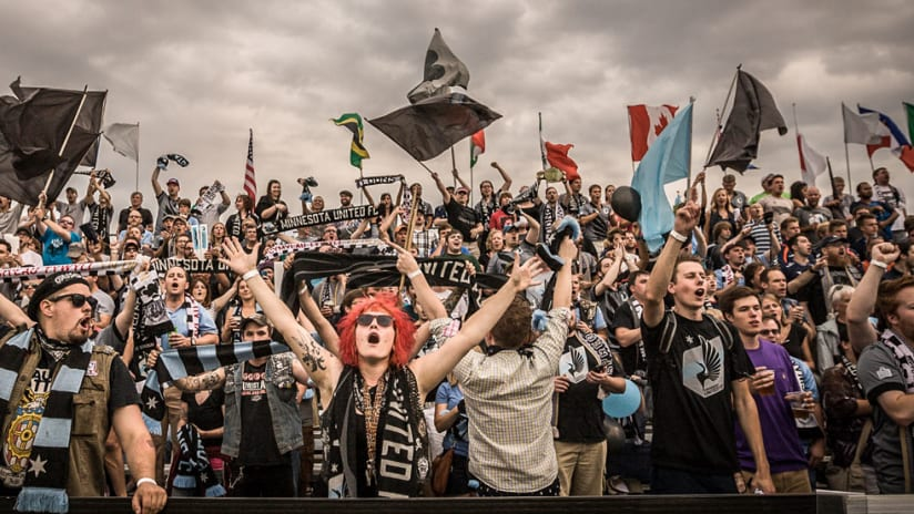Minnesota United FC - Dark Clouds - The Word main