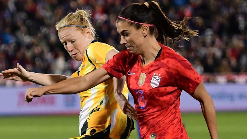 Alex Morgan - US women's national team - Australia