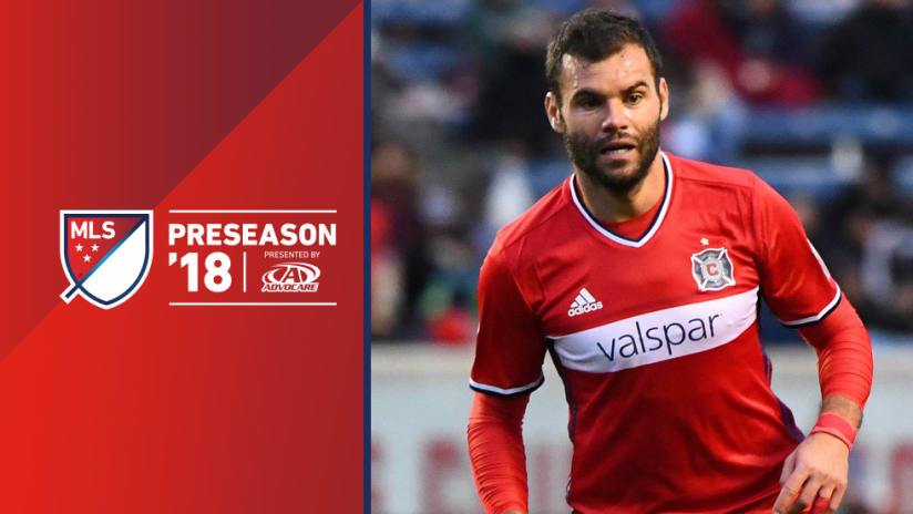 2018 Preseason overlay: Nemanja Nikolic - Chicago Fire