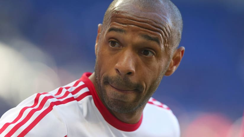 FOR EMBED: Thierry Henry close up