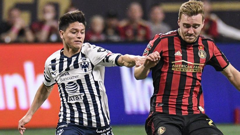 Jonathan Gonzalez - Monterrey - against Atlanta United