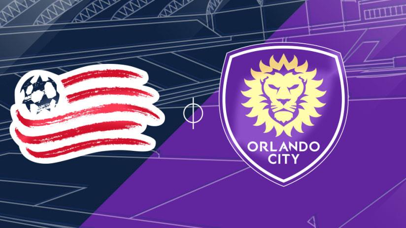New England Revolution vs. Orlando City SC - Match Preview Image