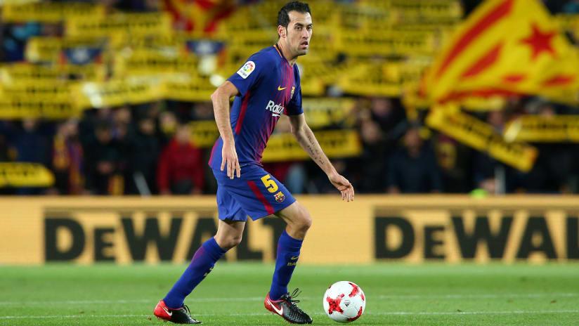 Sergio Busquets – FC Barcelona –dribbling