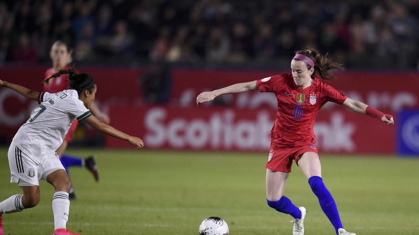 Rose Lavelle - US women's national team - vs. Mexico