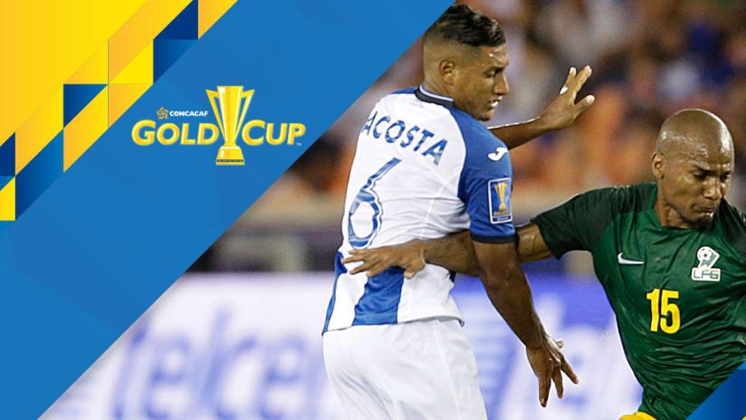Florent Malouda - French Guiana - vs. Honduras - Gold Cup overlay