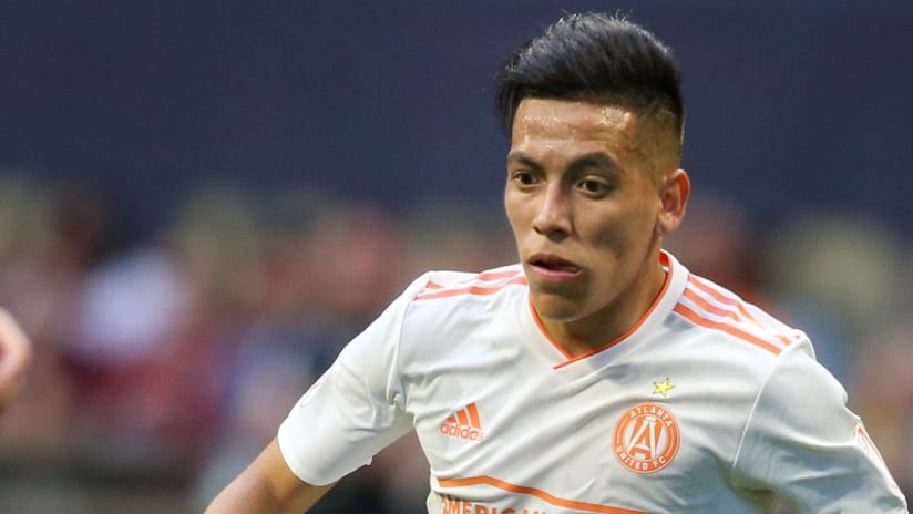 Ezequiel Barco - Atlanta United - isolated