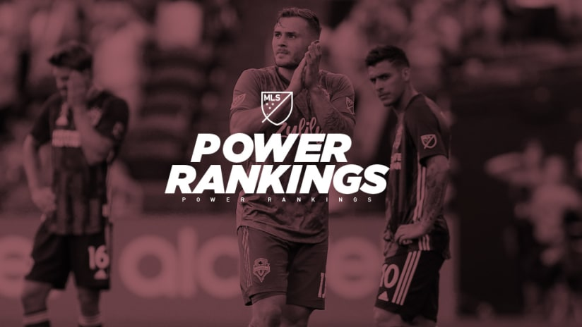 Power Rankings - Jordan Morris