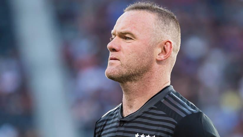 Wayne Rooney – DC United – glances off