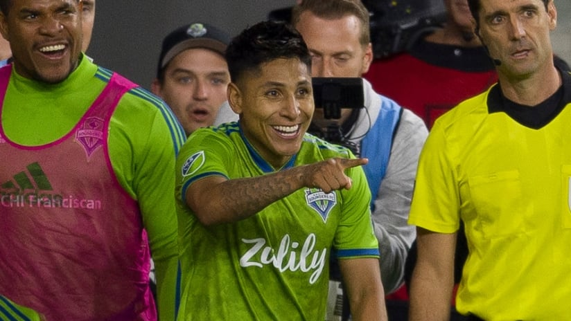 Raul Ruidiaz points - Seattle Sounders