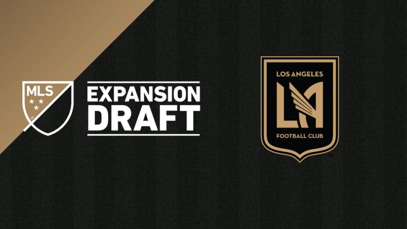 Expansion Draft - 2017 - featuring LAFC logo