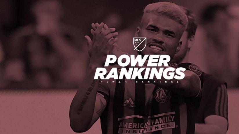 Power Rankings - Josef Martinez