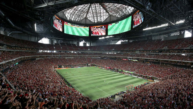 Atlanta United, Mercedes-Benz - Crowd vs. Seattle