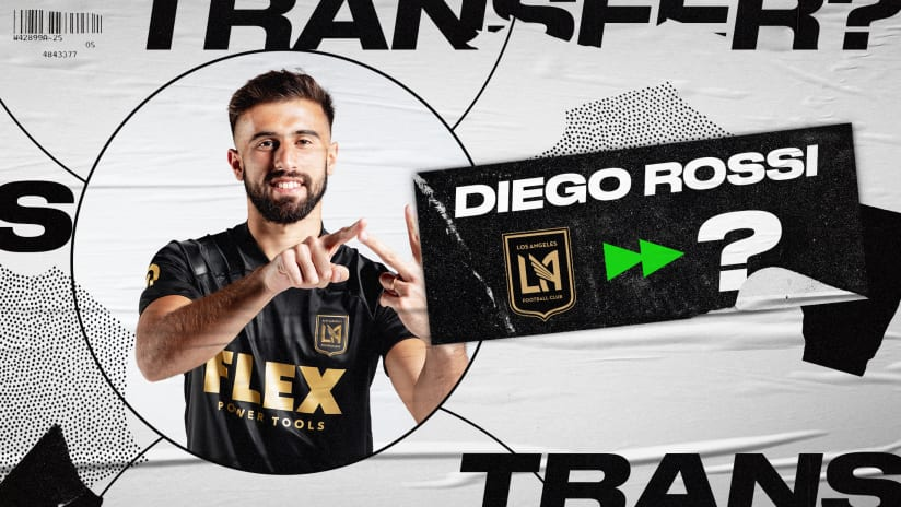 Report: LAFC's Diego Rossi pursued by Tottenham and Everton