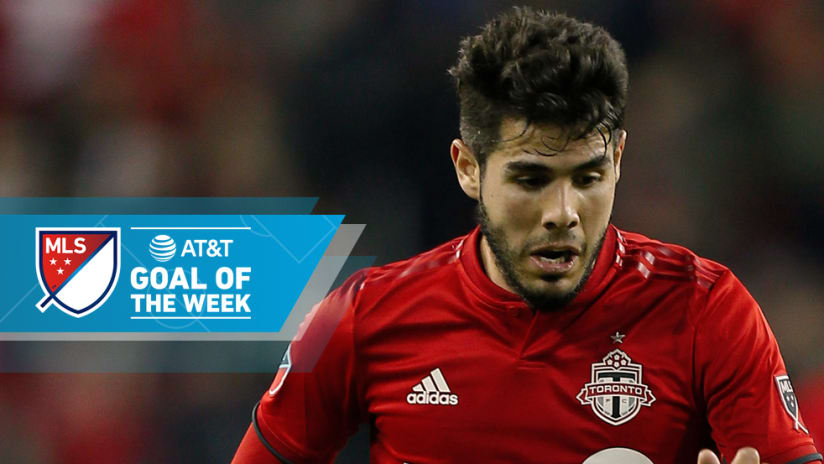 Alejandro Pozuelo - Toronto FC - Goal of the Week