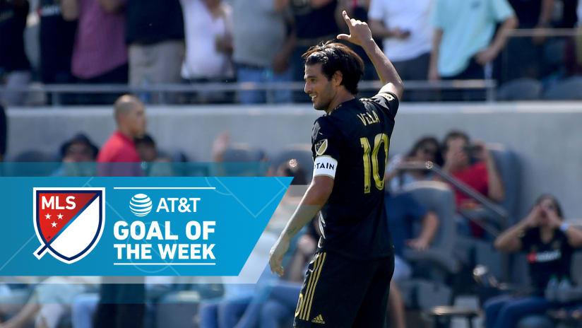 AT&T Goal of the Week - Week 31 - Carlos Vela