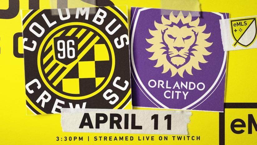 Columbus Crew SC - Orlando City SC - eMLS