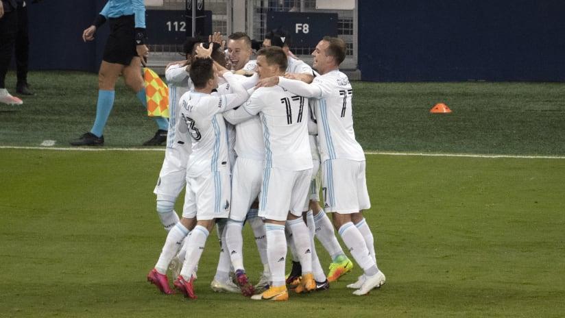 Playoffs - 2020 - Minnesota United - team celebration