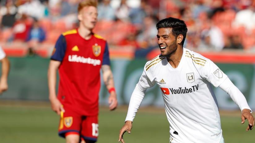 Carlos Vela - LAFC vs Real Salt Lake - Scores