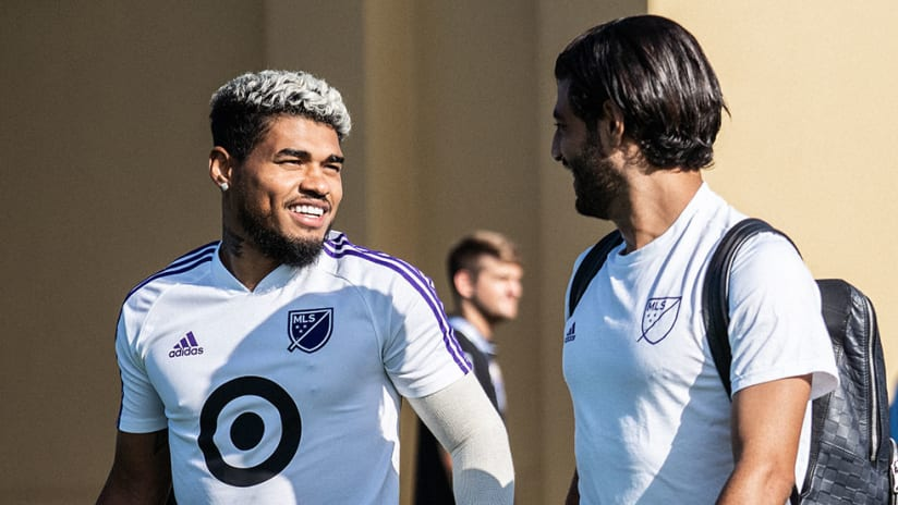Carlos Vela, Josef Martinez - MLS All-Stars