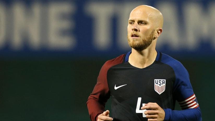 Michael Bradley - US national team - close up
