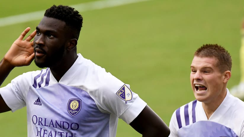 Daryl Dike - Orlando City SC - are you not entertained?