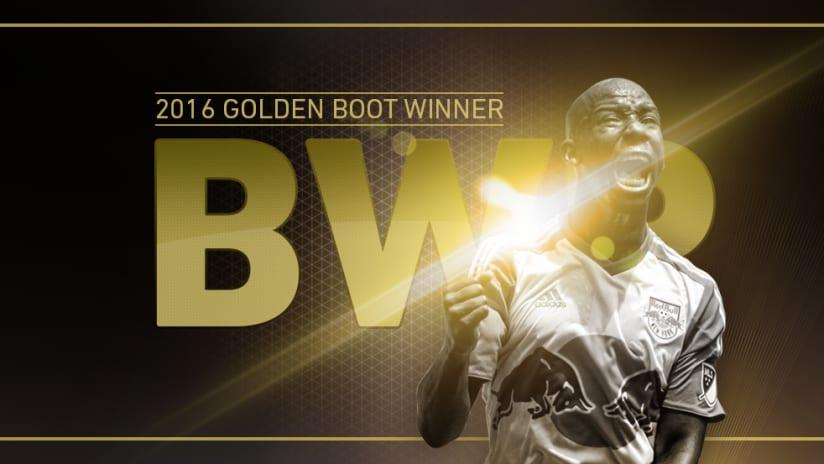Golden Boot - 2016 - Bradley Wright-Phillips - New York Red Bulls