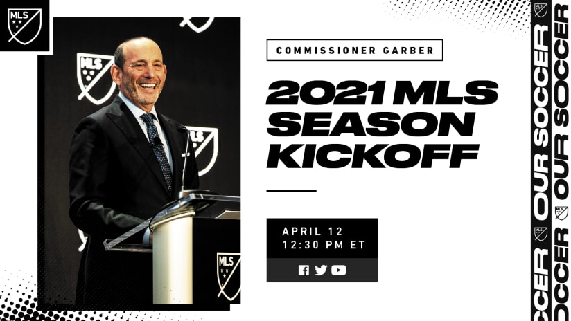 Watch: MLS Commissioner Don Garber season kickoff discussion