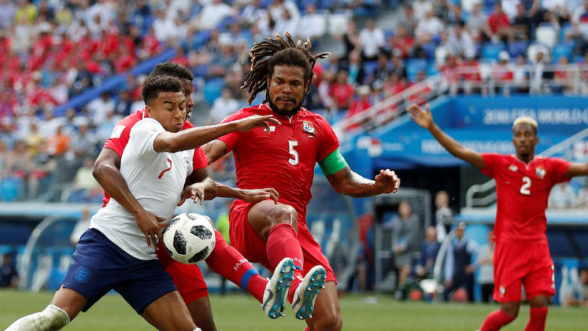 Roman Torres vs. England