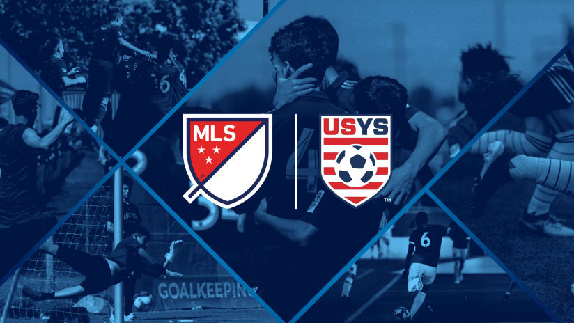 MLS x USYS partnership announcement - primary image