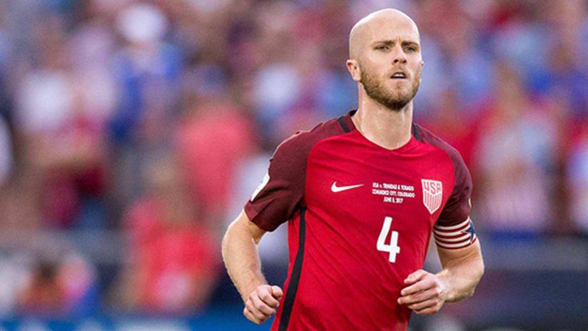 Michael Bradley - US national team - Trinidad and Tobago - June 8, 2017