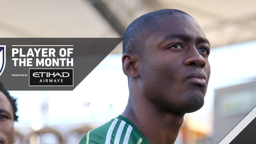 Fanendo Adi - Portland Timbers - Player of the Month