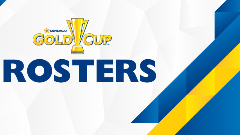 2017 CONCACAF Gold Cup rosters
