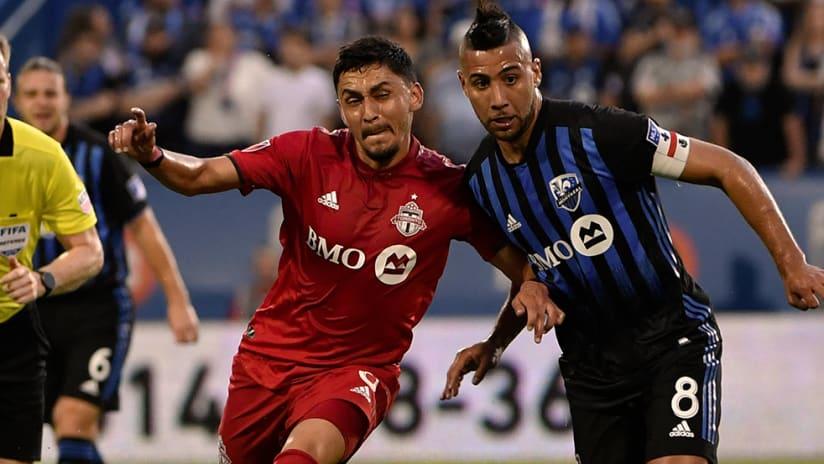 Marky Delgado, Saphir Taider - Toronto FC, Montreal Impact - Battle