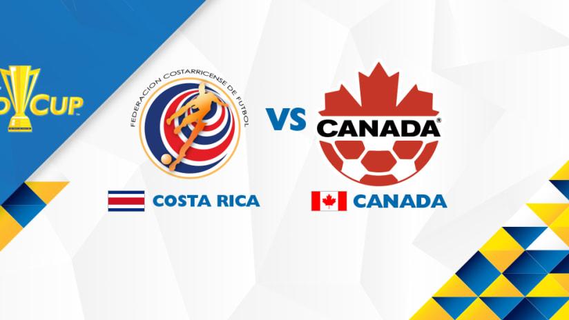 Gold Cup: Costa Rica vs. Canada - July 11, 2017   HERO