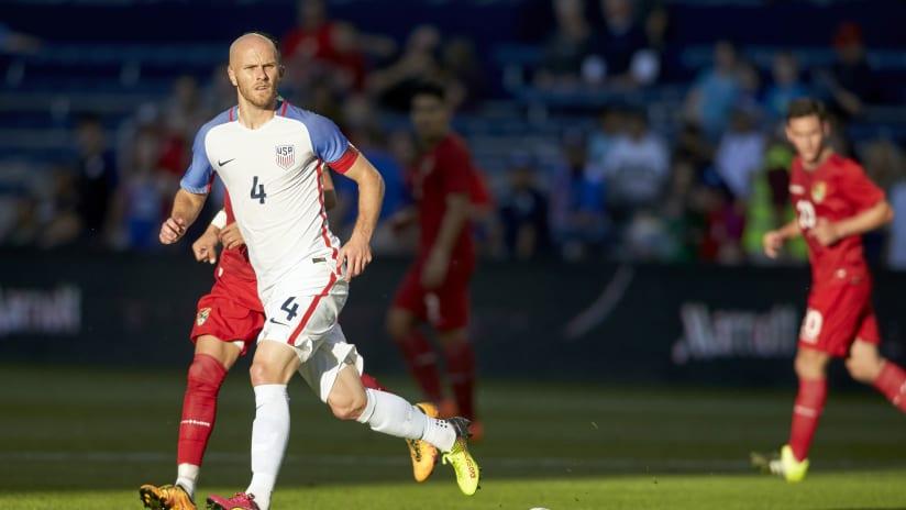 Michael Bradley for the US men's national team USMNT vs. Bolivia
