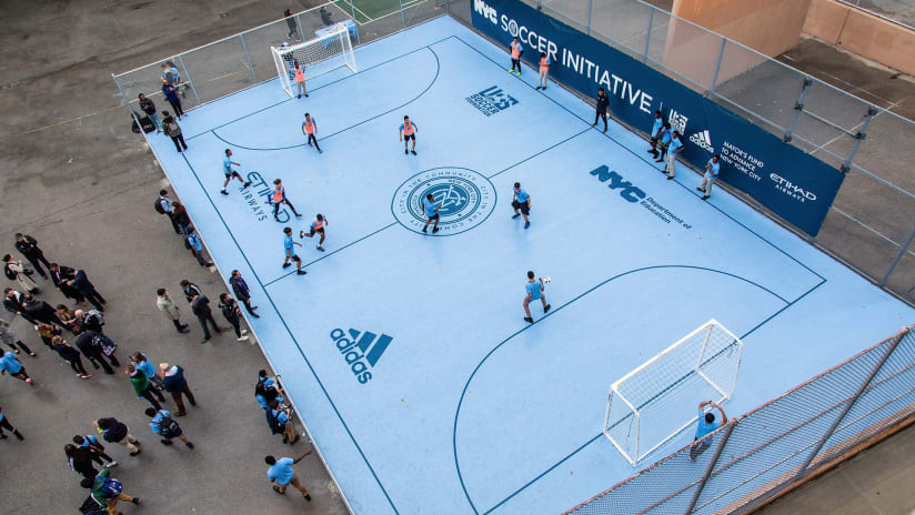 NYCFC named finalist for ESPN Sports Humanitarian Team of the Year award