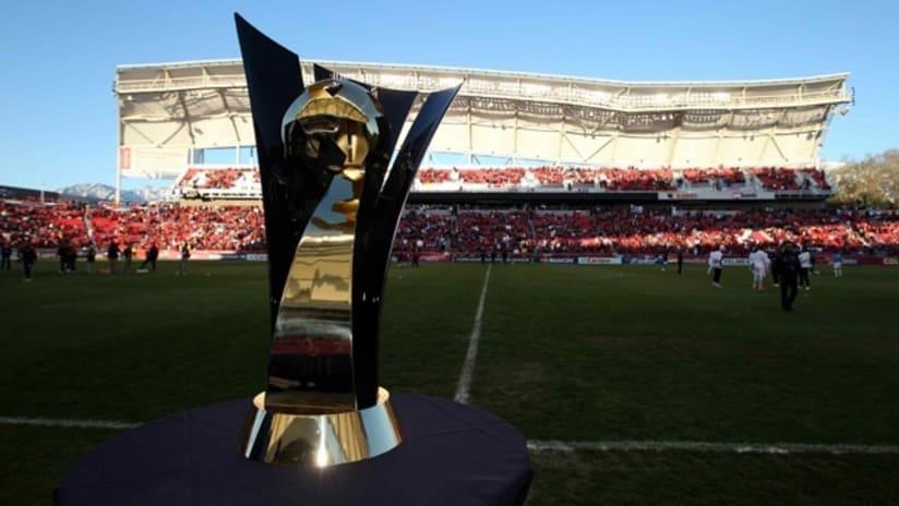 The CCL trophy, CONCACAF Champions League